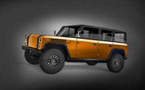 electric truck bollinger b1 electric 4x4 airbags fording water electric range