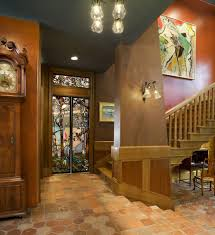 Arts And Crafts Style Homes Interior Design Arts And Crafts Decorating Kitchen Craftsman With Frosted Glass
