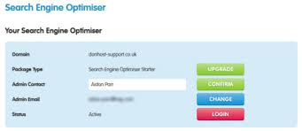 contact admin how do i update the admin contact in search engine optimiser