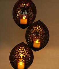 Mosaic Wall Sconce Product 7156 2 Glass Mosaic Wall Sconce Votive Candle