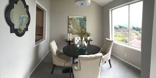 Transitional Dining Rooms Dining Room With Pendant Light U0026 High Ceiling In Pacifica Ca