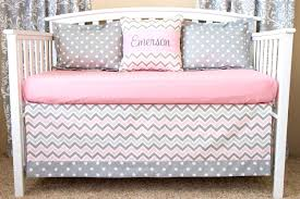 chevron girls bedding baby bedding sets chevron crib image of girls beauteous pink