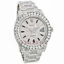 rolex black friday sale iced out rolex rolex datejust mens custom diamond watch 25 20ct