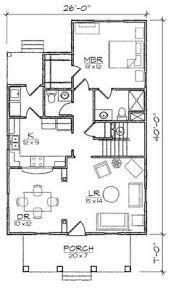 4 Bedroom Bungalow Floor Plans Austin Iii Bungalow Floor Plan 26x47 House Plans 4 Jpg 600 600