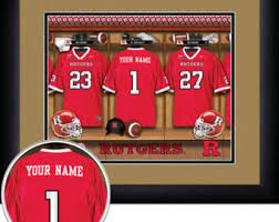 Sports Home Decor Rutgers University Etsy