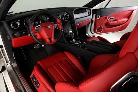 bentley mulsanne custom interior bentley continental gt red and black door panels and seats grey