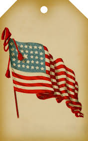vintage american flag printable digital tag call me victorian