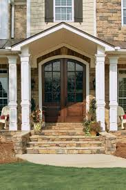 Wooden Front Stairs Design Ideas Ideas About Front Porch Steps Makeovers Wood House Entrance Step