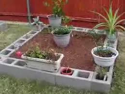 my new cinder block raised garden beds youtube
