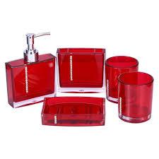 yosoo 5 piece bathroom accessory set luxury bath and vanity set