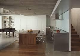 concrete interior design flowing interior design in concrete and glass