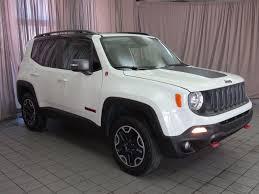 jeep hawk trail 2016 used jeep renegade 4wd 4dr trailhawk at north coast auto mall