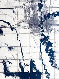Map Of Fargo Red River Floods North Dakota And Minnesota Natural Hazards