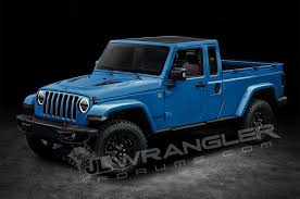 first jeep will the jeep wrangler pickup look like this motor trend canada
