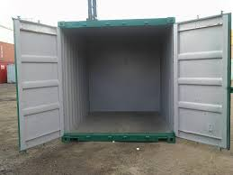 uae 20ft x 8ft steel shipping container storage container site