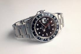 rolex black friday jam tangan second sold mint rolex gmt master ii 16710 w black