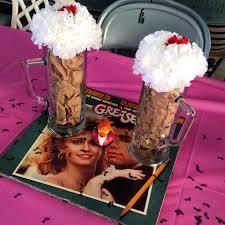 sockhop grease s s birthday  ten centerpieces  with sockhop grease s s birthday  ten centerpieces from pinterestcom