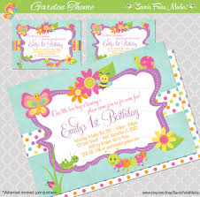 garden party invitations ideas home outdoor decoration