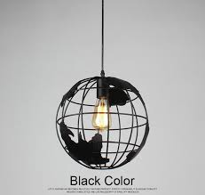 black globe pendant light globe pendant lights black white color pendant ls for bar