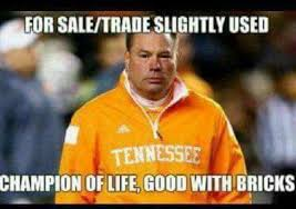Tennessee Vols Memes - sec memes butch jones tennessee feel the internet s wrath