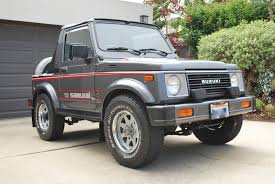 jeep samurai for sale trail tested time machine 1987 suzuki samurai jx se