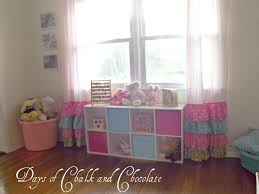 Next Nursery Curtains by Girly Ruffled Curtains And Inspiration Days Of Chalk And Chocolate