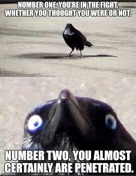 Storm Crow Meme - insanity crow meme generator imgflip