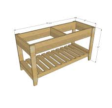 Ana White Build A 5 Board Bench Free And Easy Diy Project And by Ana White Sand And Water Play Table Diy Projects