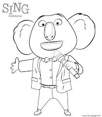 amazing printable sing cartoon coloring books kids coloring7