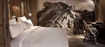 chambre chalet luxe hôtel chalet de luxe megève le chalet zannier chambre prestige