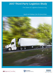 3pl Study The State 2017 Third Logistics Study