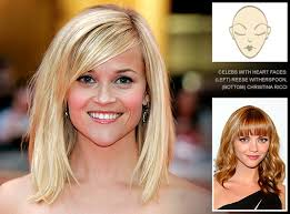hair styles for head shapes hairstyles for heart face shapes