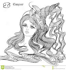 cancer zodiac sign as a beautiful stock photo image 19136370
