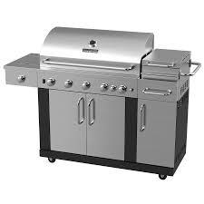 Outdoor Kitchen Grills Shop Master Forge New Outdoor Kitchen 5 Burner 60 000 Btu Liquid