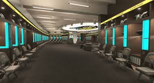 60 minutes features populous designed jacksonville jaguars locker room