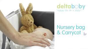 delta baby nursery bag 2 in 1 youtube
