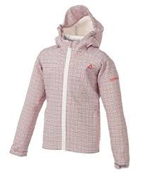 dare 2b butterfly kick kids ski jacket dkp046 monochrome peach