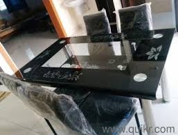 Dining Table Sale Online Furniture Shopping India NewUsed - Glass top dining table hyderabad