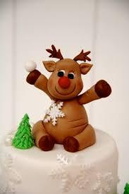 Christmas Cake Decorations Rudolph by Cake Decorating Ideas Fondant Snowflakes Fondant Cake And