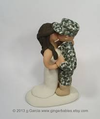 army cake toppers army wedding cake toppers