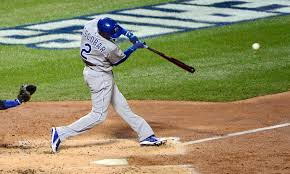why does alcides escobar bat leadoff for the royals for the win