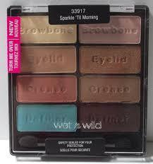 Wet Wild Comfort Zone Wet N Wild Le Sparkle U0027til Morning 8 Pan Palette Beauty In