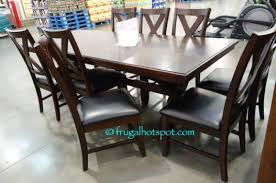 Costco Dining Room Furniture Costco Sale Bayside Furnishings 9 Pc Dining Set 699 99 Frugal
