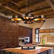 Kitchen Pendant Ceiling Lights Retro Classic Metal Ceiling Lights Simple Dining Room Kitchen