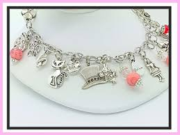 bracelet jewelry designs images Alice in wonderland charm bracelet jpg