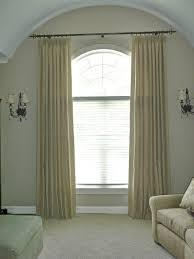 Arch Windows Decor Adorable Half Circle Window Curtains Decor With Windows Throughout