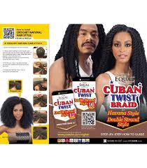 black cuban twist hair equal cuban twist braid