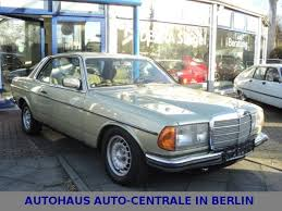 mercedes w123 coupe for sale mercedes 230 w123 ce w123 mit schiebedach 1981 coupé for sale