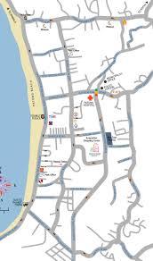 Phuket Thailand Map Rat U Thit Road Map In Patong Phuket Thailand