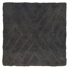 Square Bath Rug Square Bath Rug Railroad Gray Nate Berkus Shop Your Way